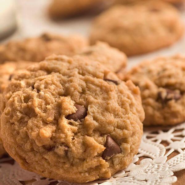 Best Ever Peanut Butter Oatmeal Cookies / De bästa havrekakorna med jordnötssmör någonsin