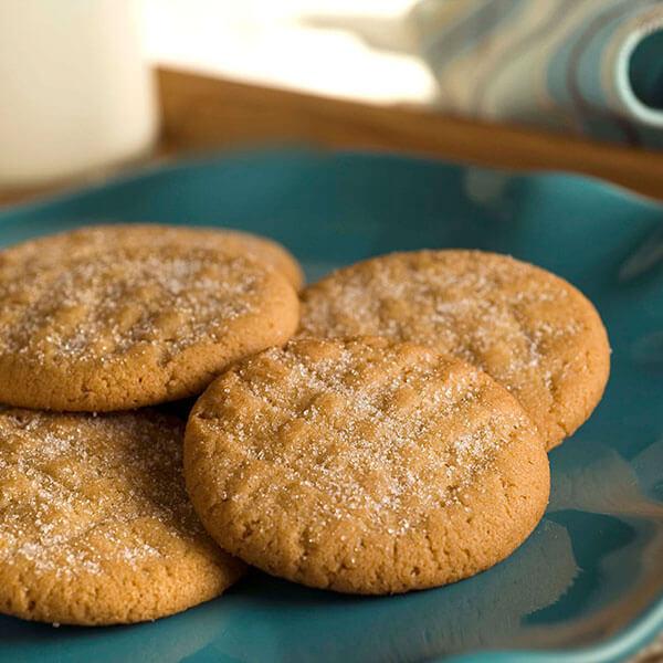Classic Peanut Butter Cookies / Klassiska jordnötssmörskakor