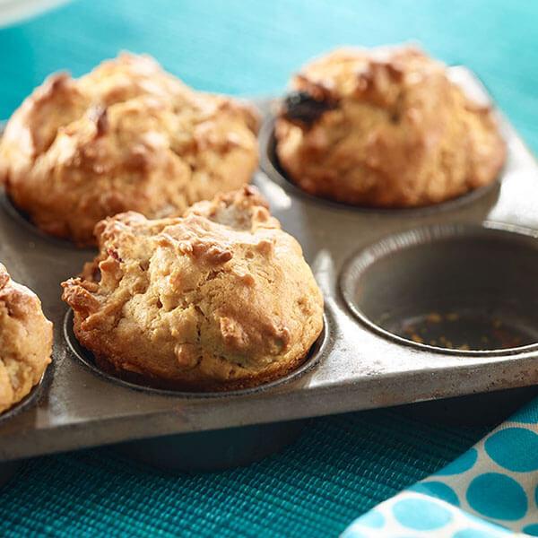 SKIPPY<sup>®</sup> Peanut Butter Breakfast Muffins / SKIPPY<sup>®</sup> Frukostmuffins med Jordnötssmör