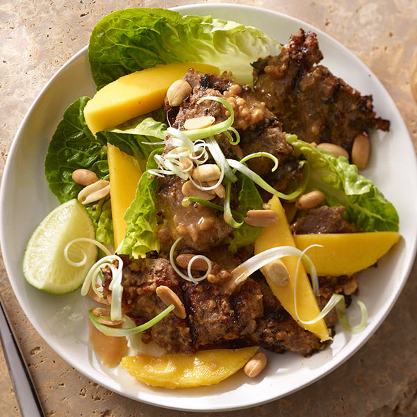 SKIPPY<sup>®</sup> Beef Mango Salad Peanut Dressing / SKIPPY<sup>®</sup> Biff och Mangosalad med Jordnötssmördressing