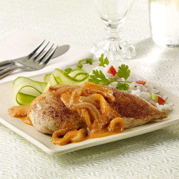 SKIPPY<sup>®</sup> Chicken in Spicy Peanut Sauce / SKIPPY<sup>®</sup> Kyckling i Kryddig Jordnötssmör