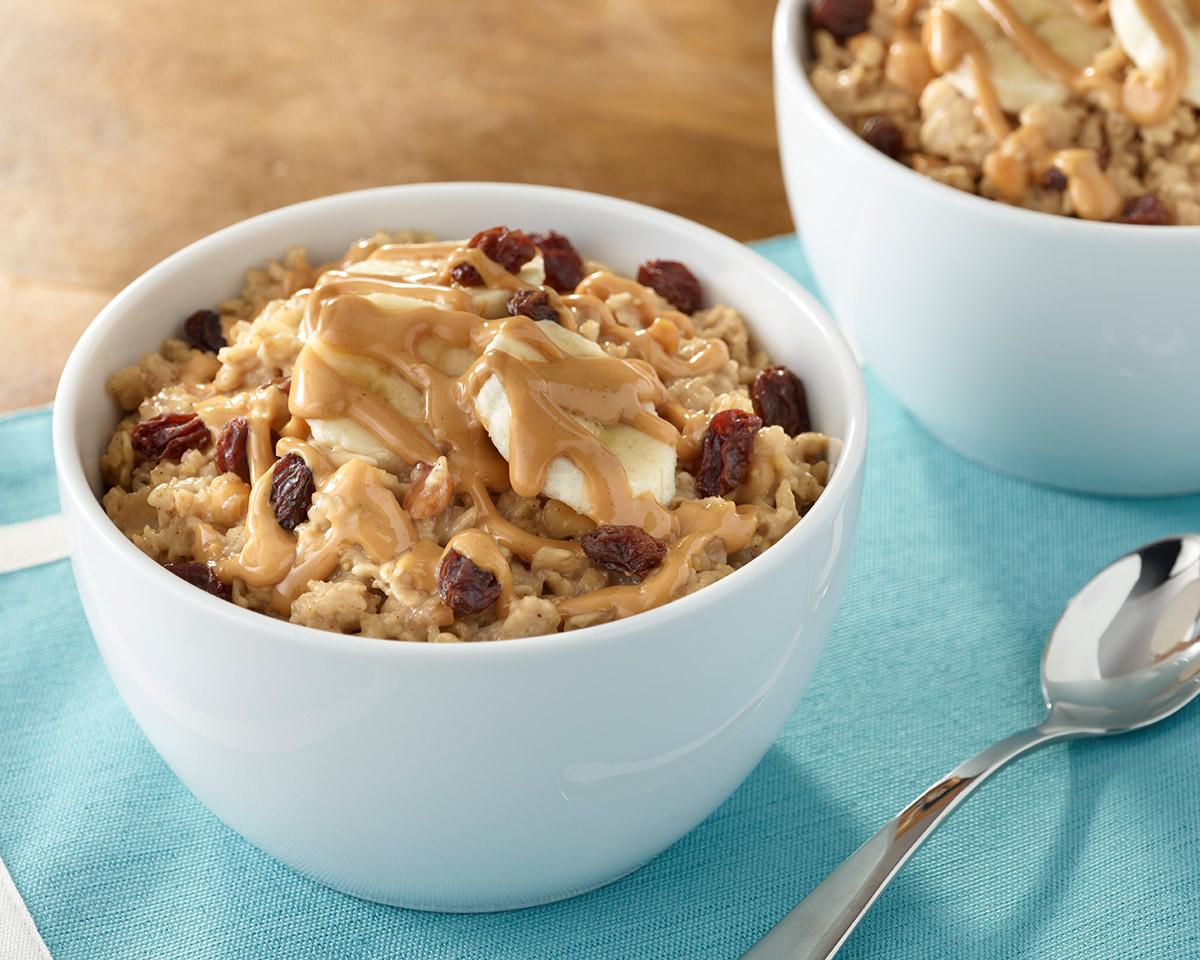 Peanut Butter Cookie Oatmeal / Havregrynsgröt med jordnötssmör
