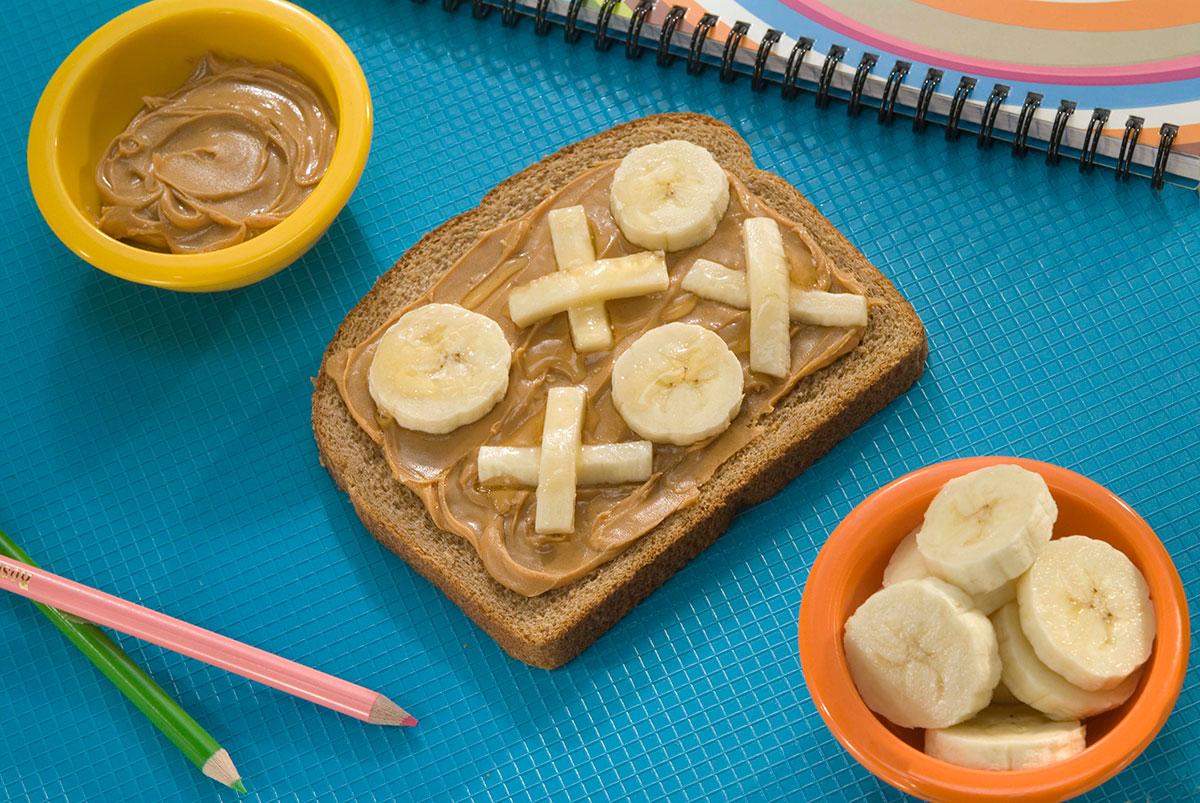 Tic-Tac-Toe Sandwich / Tre-i-Rad- Smörgås